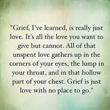 Grief And Loss Quotes Cool Grief Isn't Always Because Someone Died Sometimes It's Over A Loss
