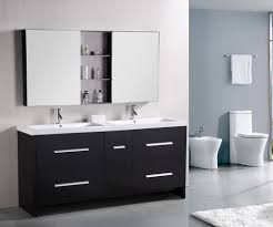 72 inch double sink vanity. design element perfecta double integrated white acrylic drop-in sink vanity set, 72- 72 inch