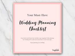 Wedding Excel Checklist Wedding Planning Checklist Printable Pdf And Excel Free