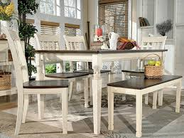 Ashley D583 Whitesburg Cottage Six Piece Dining Set in Myrtle Beach