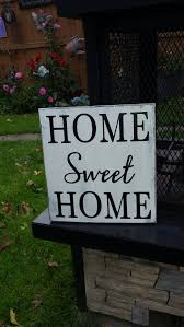 home sweet home distressed wood sign patio decor rustic primitive decor housewarming gift wall hanging entryway