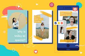 Selain membuat status berupa gambar dan video. How To Make A Happy Birthday Video For Instagram Stories Animoto