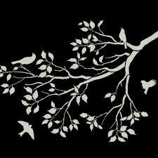 patterns furniture. Spring-songbirds-stencil-patterns-furniture-painting-stencils Patterns Furniture