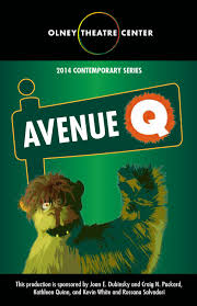 AVENUE Q Program by Olney Theatre Center issuu