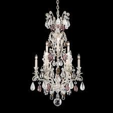 schonbek lighting 3580 48os renaissance 9 light candle style chandelier antique silver