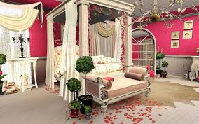 Of Romantic Bedrooms Romantic Bedroom Romantic Bedroom With White Leather Bedframe