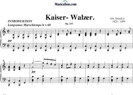 「1889  Kaiser-Walzer」の画像検索結果
