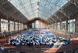 islam neon coxecageoverall bh muslim in america photo essays hundreds of local muslims pray at coxe cage during eid ul fitr prayer