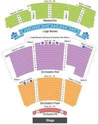 Richardson Charts Eisemann Center Seating Chart Richardson