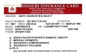 State Farm Quote Car Simple Insurance Card Template Car Cards Templates Business Idea Auto Id