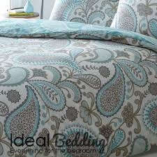 pieridae paisley duvet quilt bedding cover and pillowcase teal bedding set duvet sets complete bedding sets bed sheets pillowcase
