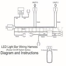 wiring harness cable led light bar laser rocker switch 12v 40a wiring harness cable led light bar laser rocker