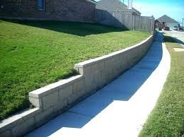 retaining wall cap blocks concrete block wall caps wall with cap top garden walls cinder block retaining wall cap
