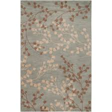 odd fl wool rugs com safavieh blossom collection blm675a handmade blue and