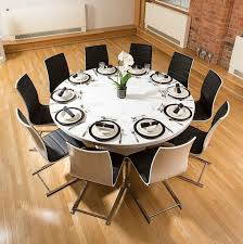 dining room tables that seat 10 12 extra large round dining table 3