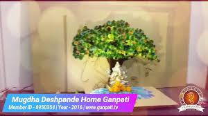 mugdha deshpande home ganpati decoration video ideas www