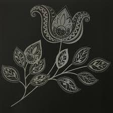 スクラッチアートブック ときめきの花 削ってみました オトナの