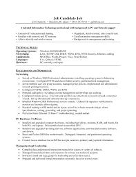 Information Technology Help Desk Resume Sample Fresh Helpdesk
