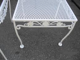 Wrought Iron Patio Set Regarding Household  Daily KnightWoodard Wrought Iron Outdoor Furniture