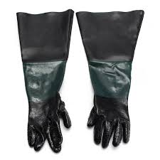 1 pair heavy duty sandblasting gloves 60cm work gloves for sandblaster sand blast cabinet in power tool accessories from tools on aliexpress alibaba