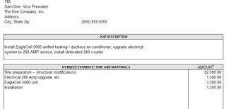 12 Free Sample Home Repair Estimate Templates - Printable Samples