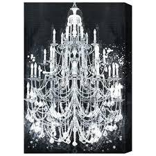 chandeliers chandelier canvas art diamonds gal wall uk