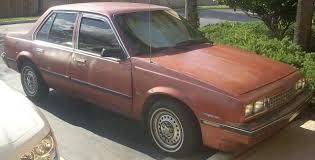 File:'84 Chevrolet Cavalier Sedan.JPG - Wikimedia Commons