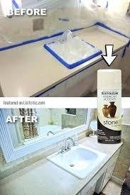 painting bathroom countertops up bathroom counters with stone spray paint painting bathroom tile countertops