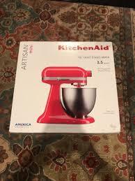 kitchenaid artisan mini 3 5 quart ksm3311xht tilt head stand mixer red