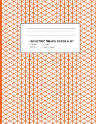 Isometric Graph Paper Graph Paper Notebook Triangle Size