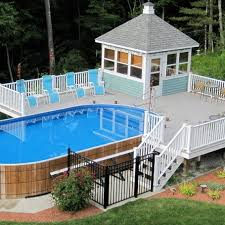 home swimming pools above ground. Exellent Swimming Cool Above Ground Pool Intended Home Swimming Pools