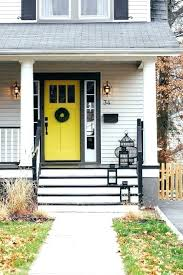 painted residential front doors. Beautiful Residential Yellow Front Door Houses With Red Doors Painted  Best Black Shutters Ideas On Farmhouse Cool Grey House Residential