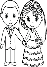 Coloring Pages Wedding Free Wedding Coloring Pages Wedding Coloring