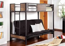Twin size bed with mattress Bed Frame Furniture Of America Clapton Twin Size Bunk Bed With Futon Cmbk029ts futon Mattress Savvy Discount Furniture Furniture Of America Clapton Twin Size Bunk Bed With Futon Cm