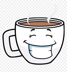 It may be made of wood, plastic, glass, clay, metal, stone they may also be used in certain cultural rituals and to hold objects not intended for drinking such as coin. Clip Art Cartoon Coffee Mug Cartoon Coffee Cup Png Transparent Png Vhv