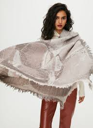 Love Haus Size Chart Wilfred Haus Party Blanket Scarf Aritzia Ca