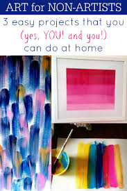 Art For Non Artists Remodelaholic Art For Non Artists 3 Diy Art Projects You Can Do