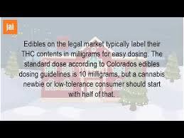 edible dosage formula
