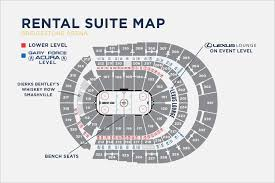 T Mobile Arena Seating Map Hockey Maps Template Sample