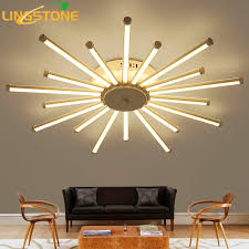 living room lighting fixtures. Ceiling Lights Led Lamp Lustre Remote Control Dimming Lighting Fixture Living Room Bedroom Dining Fixtures N