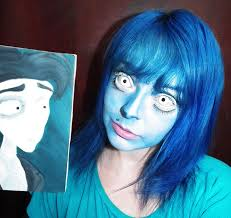 geo cpf1 create emily s look from the corpse bride you need just a pair of white lenses some foundation which you normally use for routine makeup