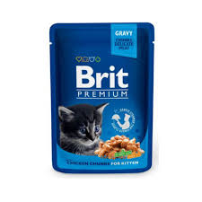 <b>BRIT PREMIUM CAT</b> POUCH WITH CHICKEN CHUNKS FOR ...