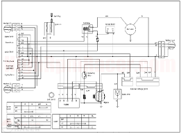 chinese four wheeler wiring diagram tamahuproject org chinese atv electrical schematic at Taotao Ata 110 Wiring Diagram