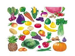 Image result for CLIPART FRUIT AND VEGGIES
