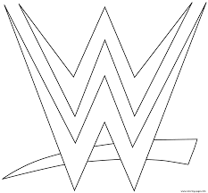 Image Result For Wrestling Coloring Pages