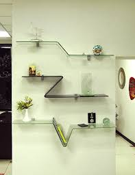 bent glass shelves