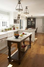Interior Designs For Kitchens Unique For Narrow Kitchens That Don't Have Room For A Standard Island Use