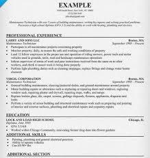 Maintenance Manager Resume Elegant Maintenance Manager Resume ...