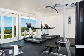fitness centre at the boutique sailrock resort