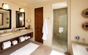 home decoration elegant bathroom design with wooden bathrooom